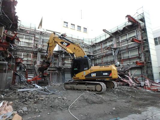 鉄骨造建築物解体工事